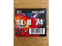 Brand New - SEALED - MAXELL 74 Minute MINIDISC