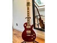 2007 Gibson Les Paul Standard Plus Guitar - Wine Red Flame - Delivery Available