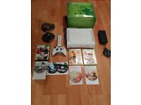 Boxed Xbox 360 Console Pro 60gb Hdmi Bundle Wireless Controller Games