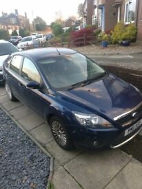 12000 miles on clock Ford Focus titanium 1.6 automatic