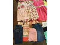 Bundle of girls clothes age 4-5 . 26 items