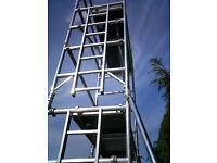 BOSS YOUNGMAN ALUMNIUM SCAFFOLD TOWER EVOLUTION NARROW 6,2M WH X 1.8M