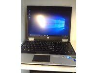 hp laptop i7 WINDOWS 10/OFFICE 2016 /4 gb ram/ immaculate