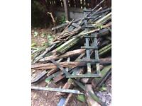 Free wood old fencing good for fire