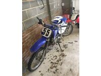 Yamaha ttr 125 £700 also for sale Suzuki kugar 100cc £250 viewing welcome no other offers