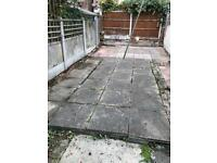 Garden slabs for sale