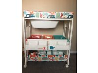 Cosatto baby changing and bathing station