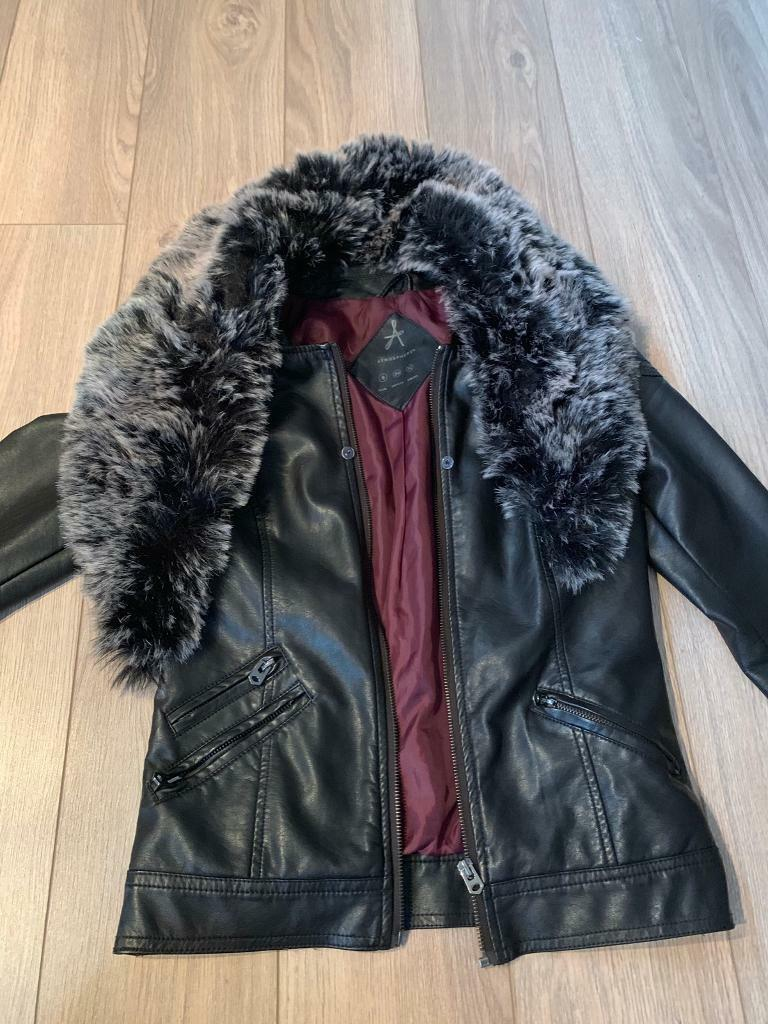 f40ad9931 Size 6 leather jacket   in Coalville, Leicestershire   Gumtree
