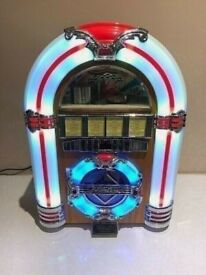 Mini Jukebox CD Player / FM Radio with Bluetooth for iPhone