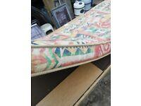 Caravan long seat cushion mattress