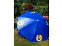Brand new Fosters Waterproof Garden Parasol/Umbrella. Very large and solid.