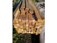 1 metre long 2x2 timber