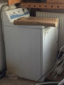 White large dryer Miele