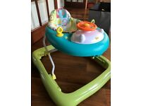 Brand new baby walker. Used a couple of times only. In excellent condition