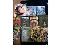 Various Graphic Novels and Comic Books