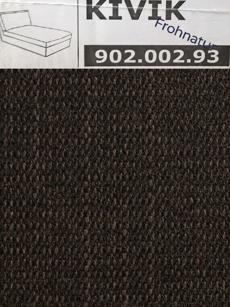 IKEA Kivik Bezug für Recamiere Dansbo dunkelgrau 602.111.65  Ersatzbezug NEU OVP