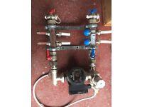 Under Floor Heating pump
