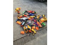Nerf guns and various
