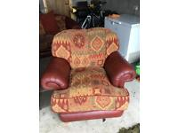 2 chairs and a sofa