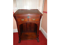 Small Antique solid oak Writing desk