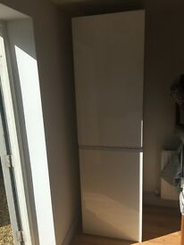 2 Large White Cupboards