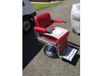 3 brand new Belmont Apollo barbers chairs