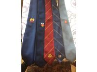 Whitbreads memorabilia 4 whitbreads ties & 1 solent inns