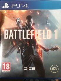 PS4 Battlefield1 £5