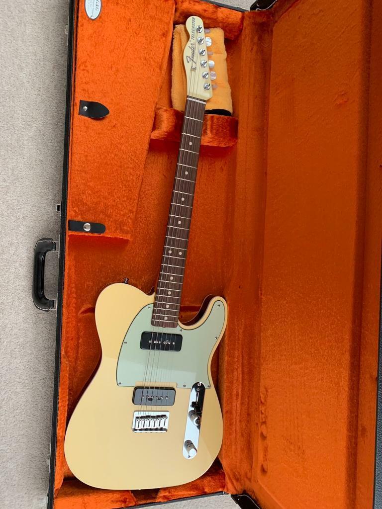 Fender telecaster custom shop P90 reverse neck | in Eynesbury,  Cambridgeshire | Gumtree