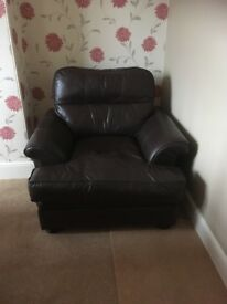 Large Leather Chair