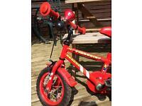 Boys bike fireman sam