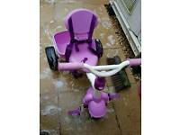 4 in 1 Girls Trike