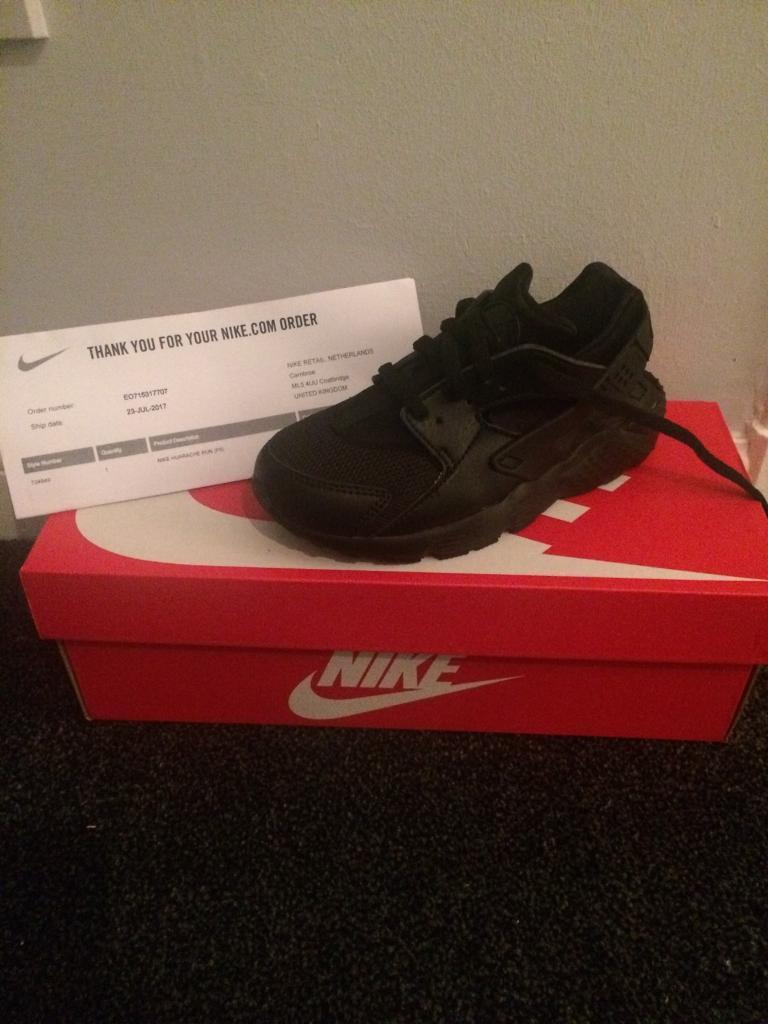 All black Hurraches-Size 13