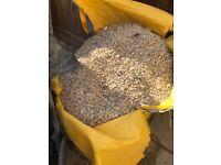 Garden stones tonne bag