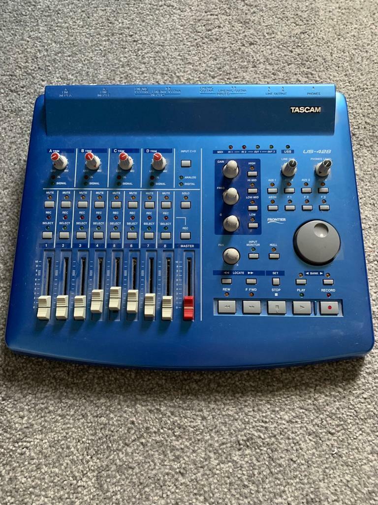 Tascam US-428 DAW controller + interface | in Wimbledon, London | Gumtree