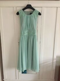 Mint green 'Ariella' dress.