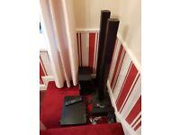 LG soundbar home cinema system