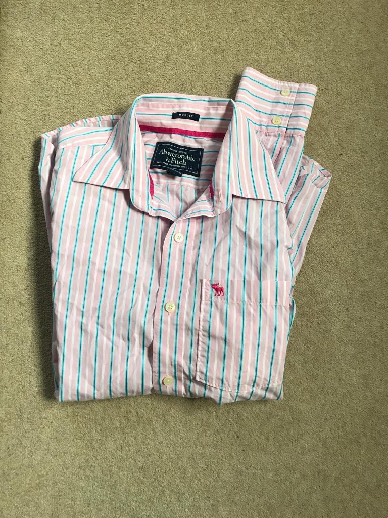 Abercrombie Men's Shirt Medium