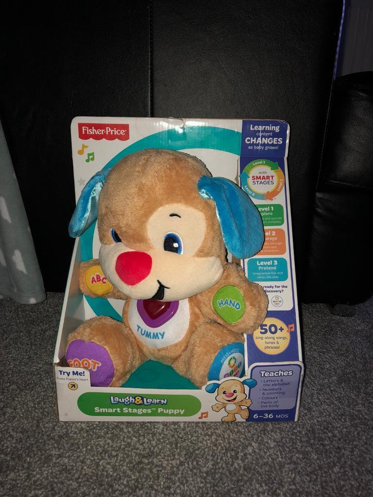 BNIB, fisher Price, Laugh and learn Puppy