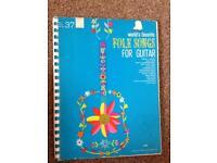 Folk songs for guitar--1964