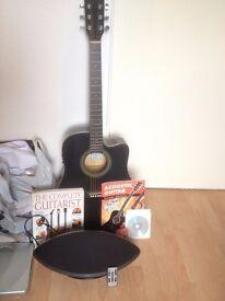 £50 all in one go Acoustic Guitar, Blaupunkt Speaker, Chromatic Turner