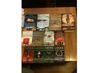 Books by wilbur smith ,bernard knight ,conn iggulden, e.t.c, e.t.c, e.t.c ,e.t.c