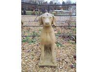 Concrete Dog Statue (x 2) Pointer - Retriever