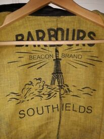 Gents Barbour waxed jacket for sale