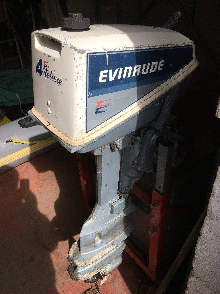 Evinrude 4hp longshaft Outboard Motor