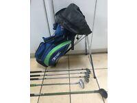 """US Kids Junior Golf Set - Left Handed - 57"""" Approx Age 9-12"""