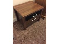 BEDSIDE TABLE FOR SALE Bought from Harvey's furnitire