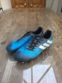 Addidas Malice Elite Soft Ground Rugby Boots (Size 7, great condition, lightly used)