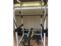 Gym Olympic Weights 220kg, Power Rack/Cage