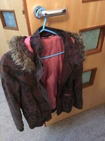Selection of girls coats